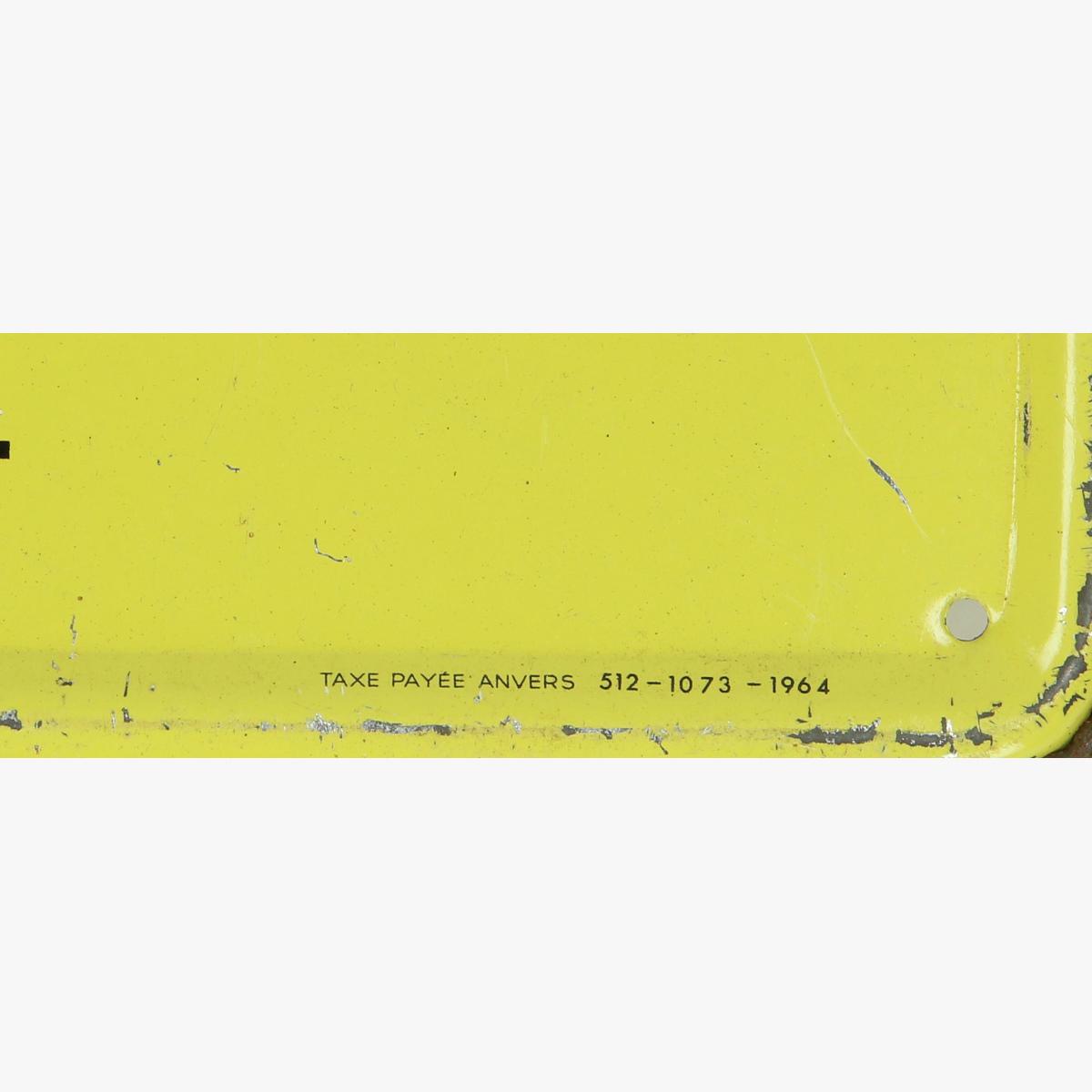 Afbeeldingen van blikken reclame 1964 boulet parfait bacnure antracite
