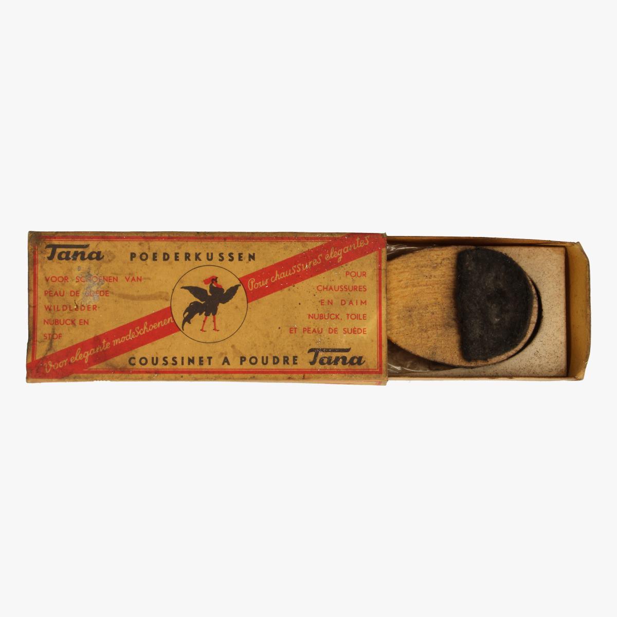 Afbeeldingen van doosje poederkussen voor schoenen TANA