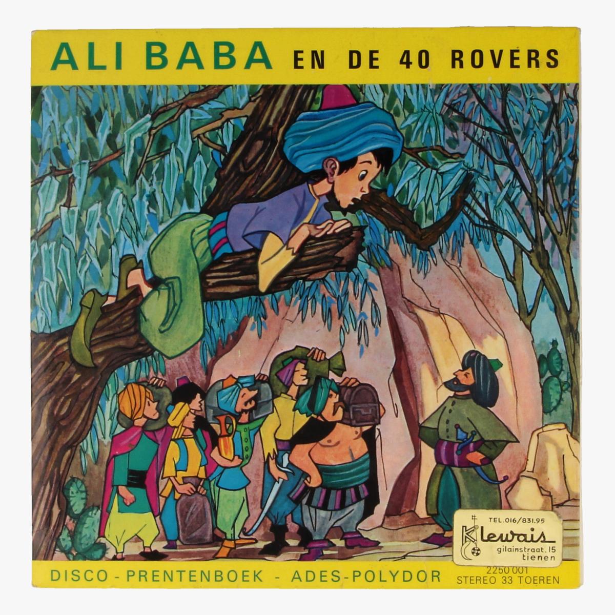 Afbeeldingen van Ali Baba en de 40 Rovers LP 33 toeren