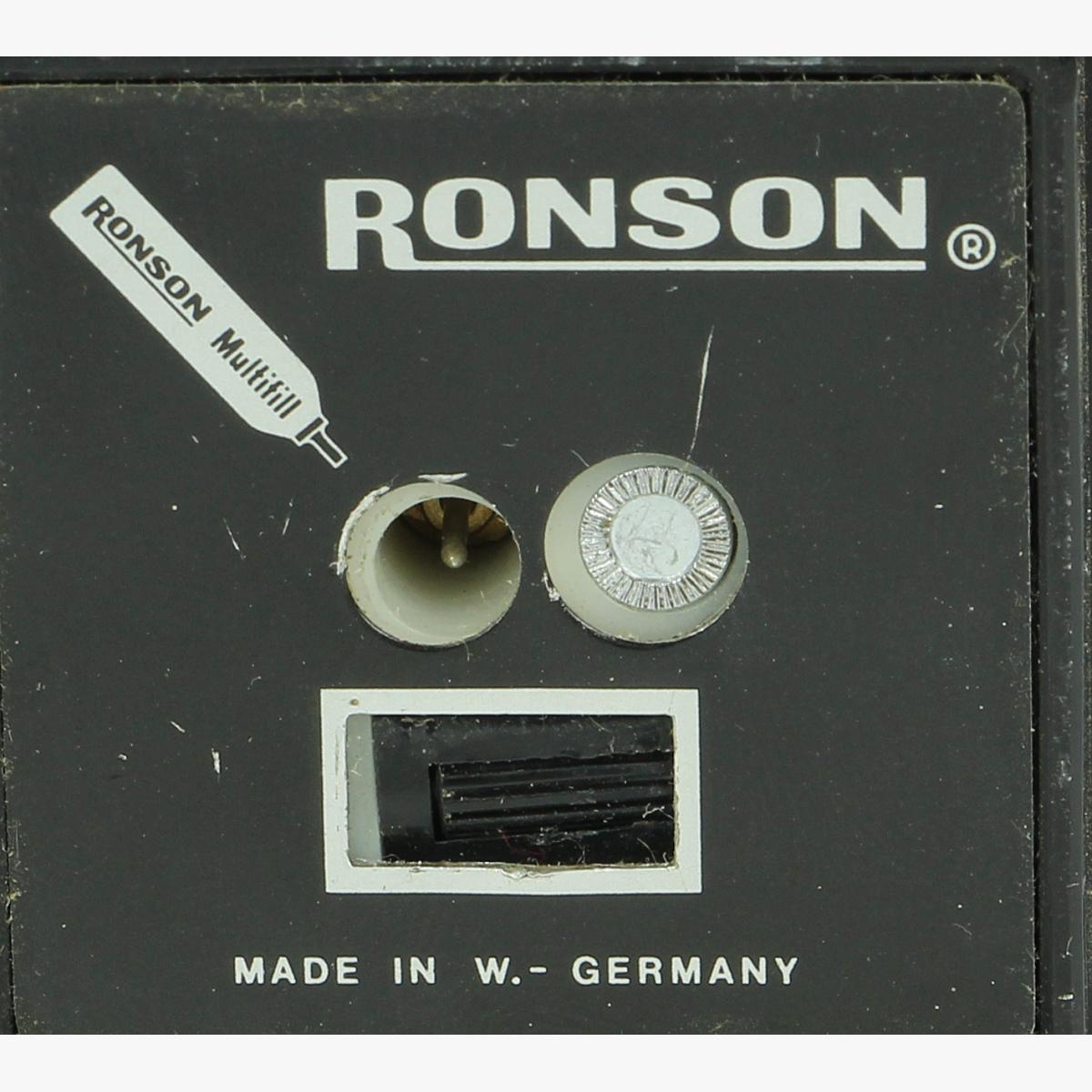 Afbeeldingen van aansteker ronson made in w.-Germany