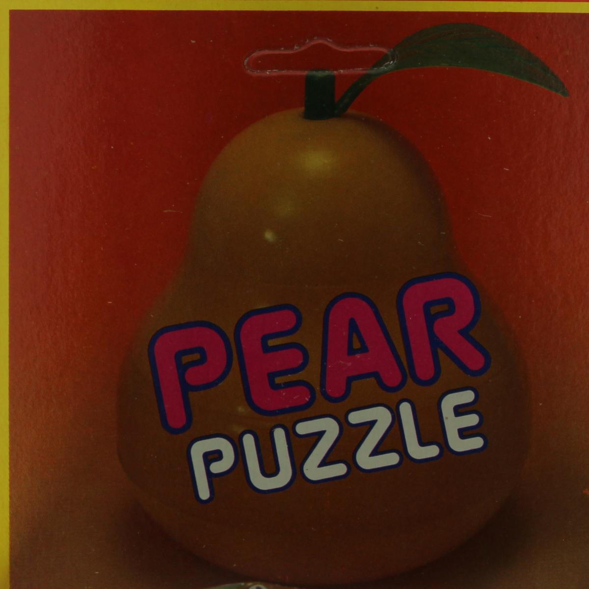 Afbeeldingen van Pear Puzzle. Speelgoed puzzel. Desco Toys