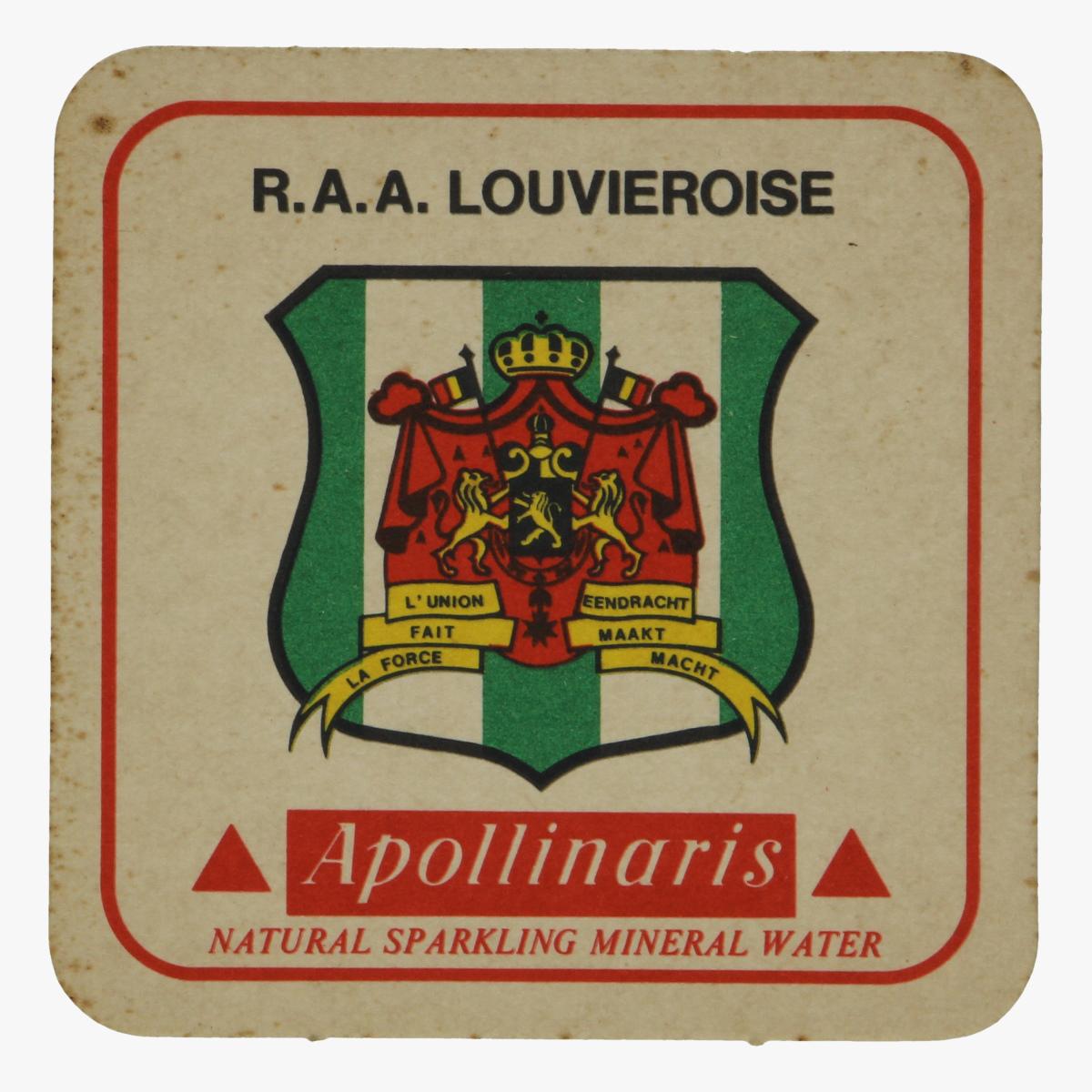 Afbeeldingen van bierkaartje r.a.a. louvieroise