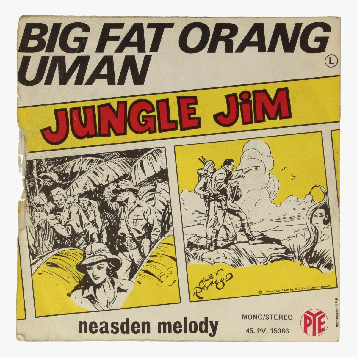 Afbeeldingen van Klein LP Big Fat Orang Uman. Jungle Jim. Neasden melody.