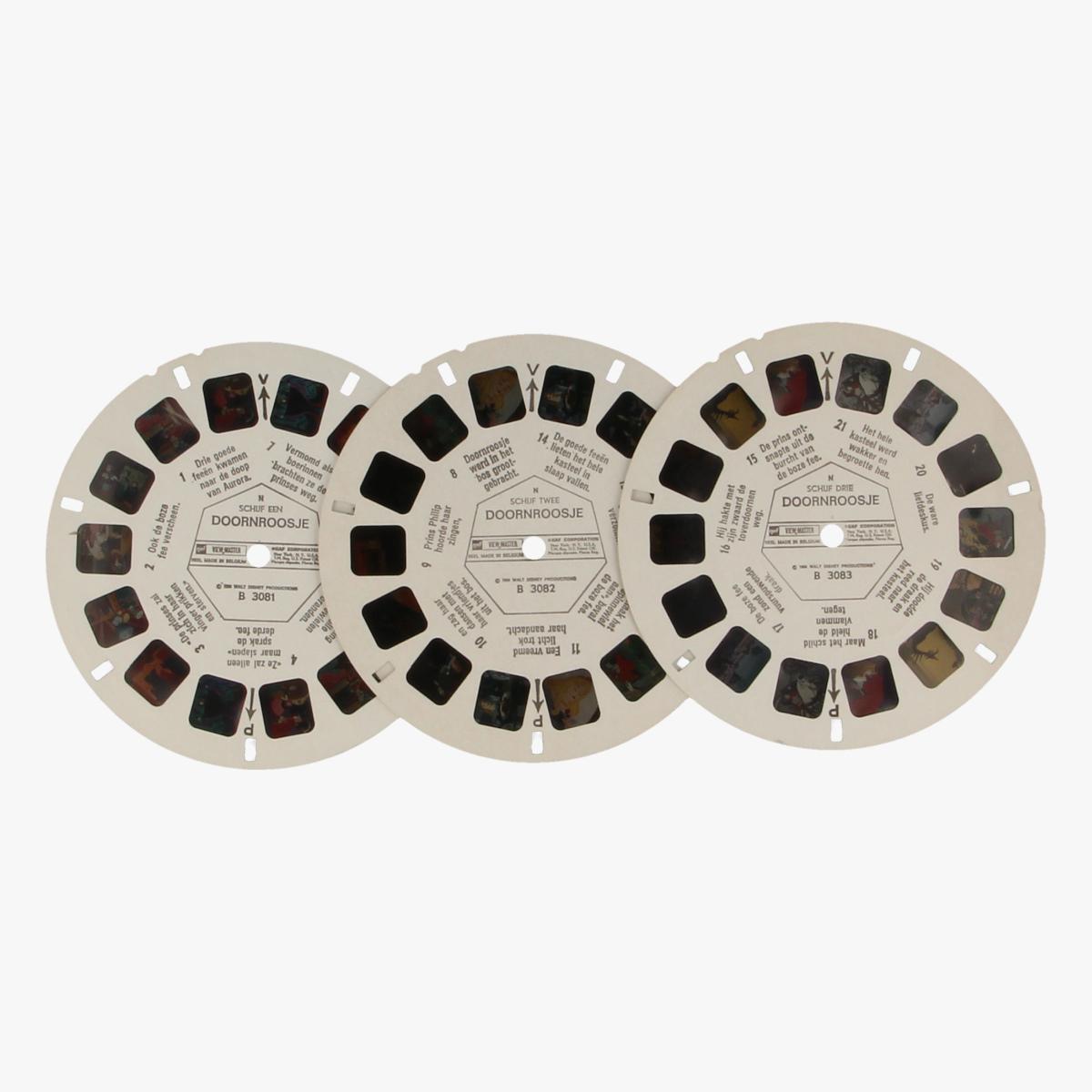 Afbeeldingen van View-master Doornroosje B3081,B3082,B3083