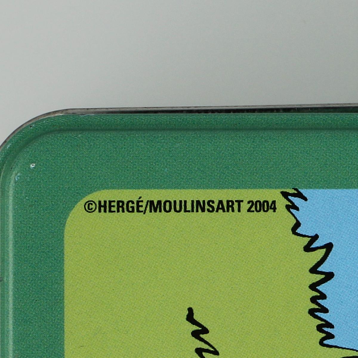 Afbeeldingen van Blikken doos Kuifje