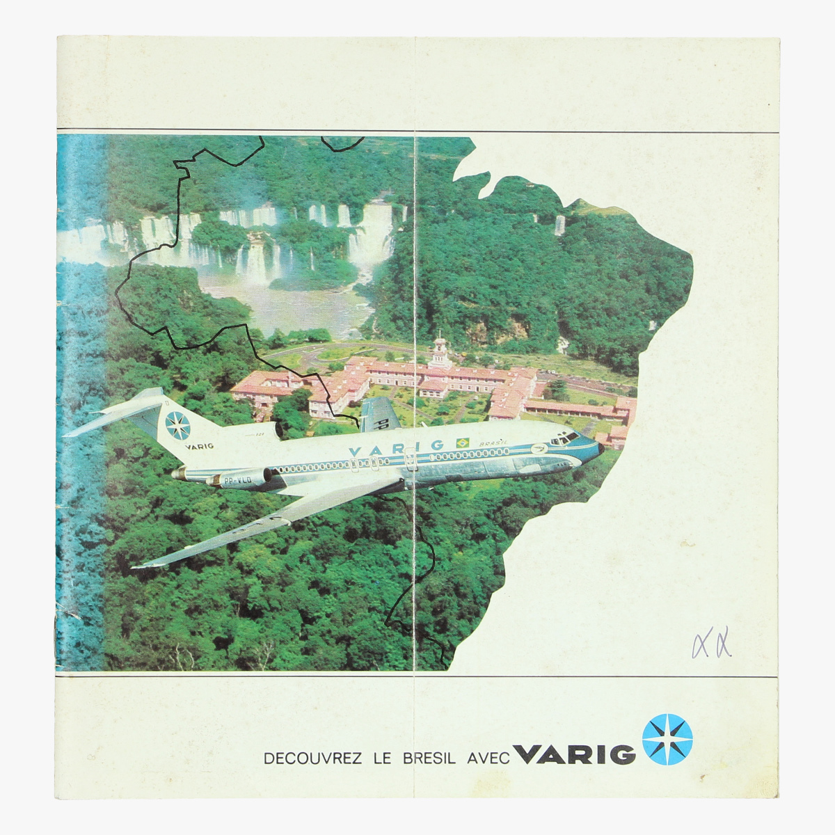 Afbeeldingen van boekje decouvre le bresil avec varig lignes aeriennes brésiliennes