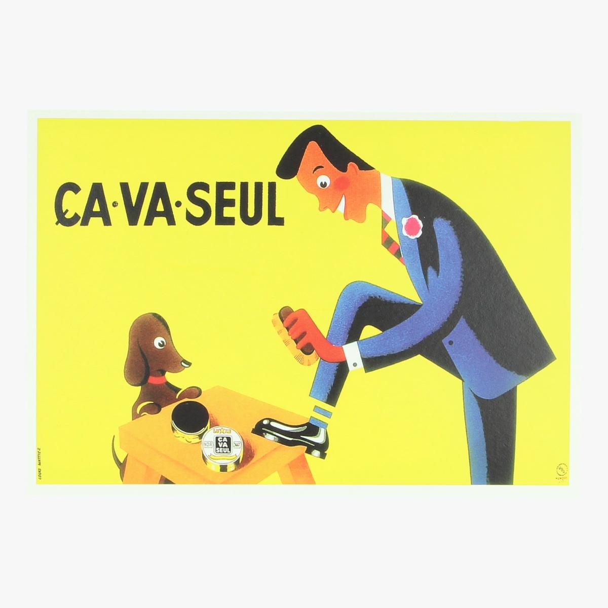 Afbeeldingen van postkaart Ca.va.seul stads archief Brussel repro