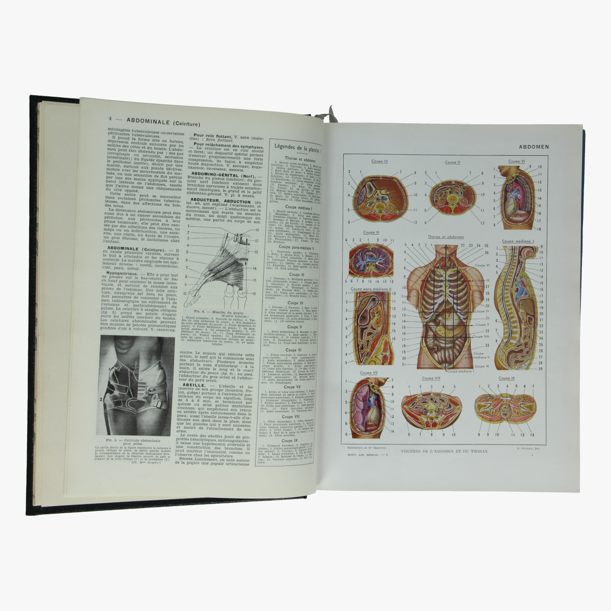 Afbeeldingen van Nouveau Larousse Médical 1952