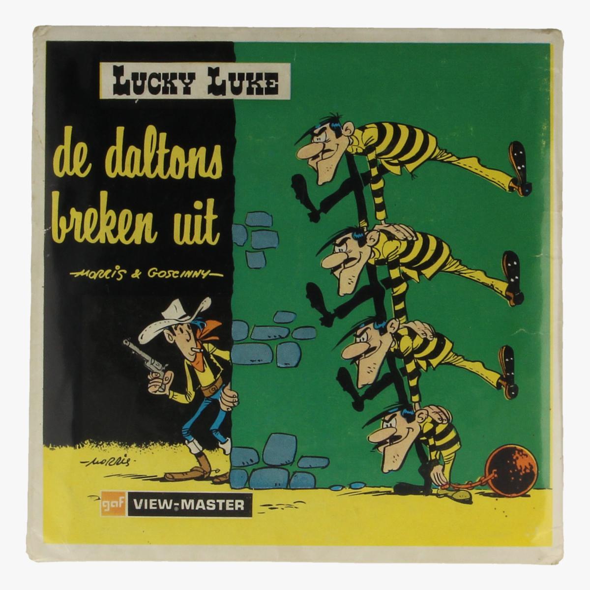 Afbeeldingen van View-Master Lucky Luke. de Daltons breken uit. Morris&Goseinny. Nr. B 455 N