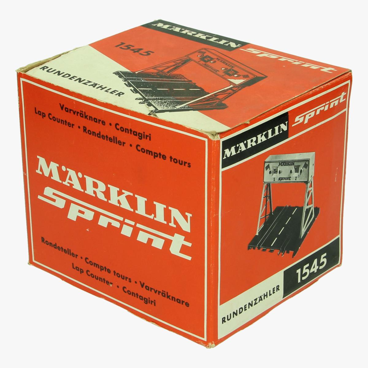 Afbeeldingen van Marklin Sprint.Rondeteller 1545