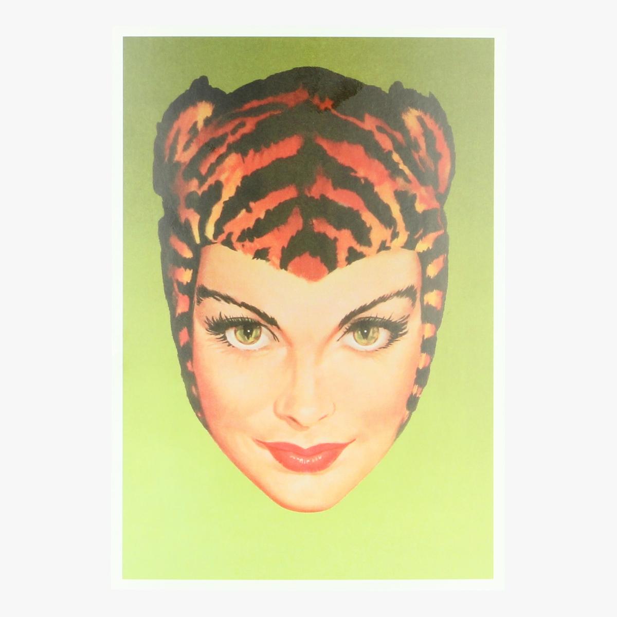 Afbeeldingen van postkaart tigra