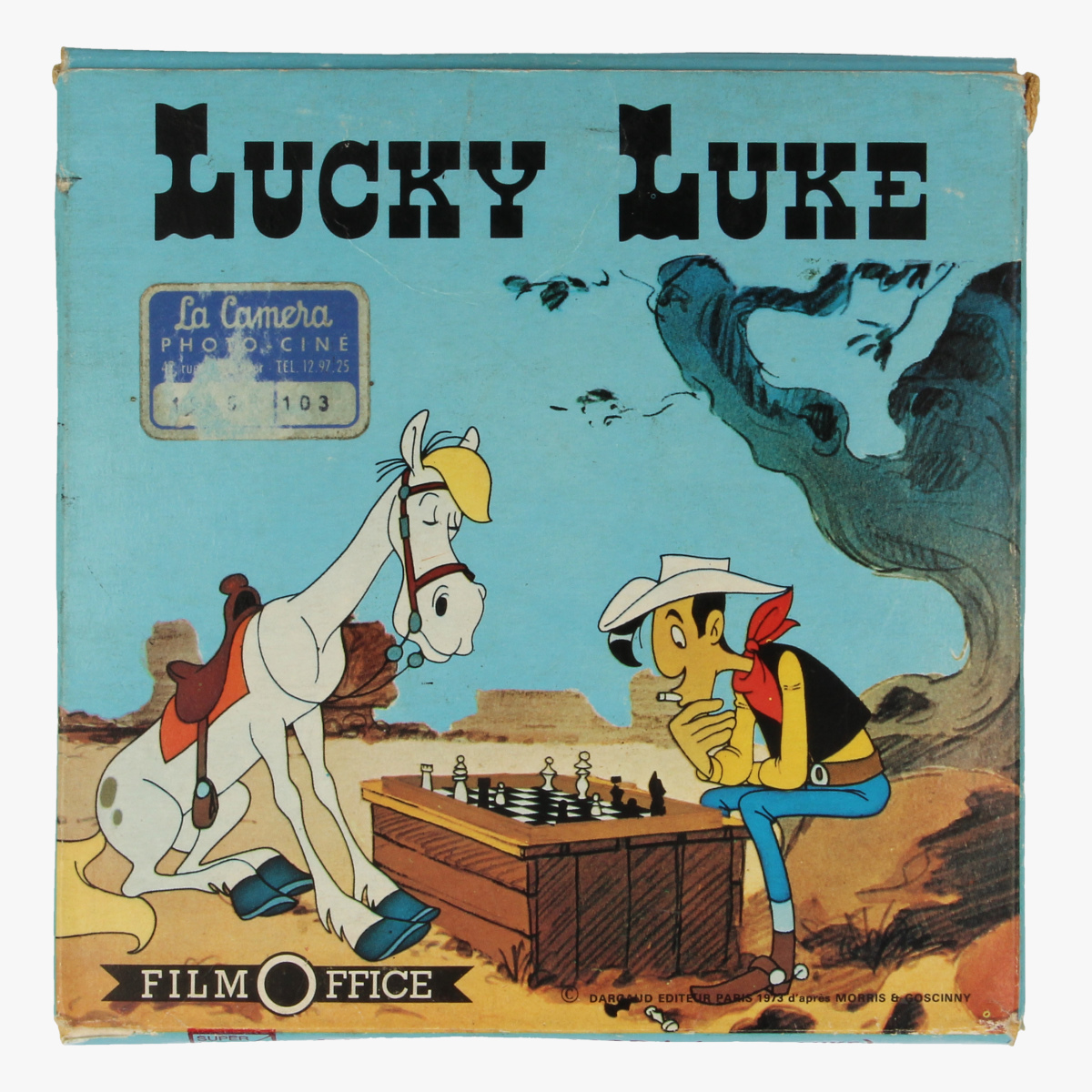 Afbeeldingen van Film Lucky Luke. De l'or!De l'or! Morris&Goscinny.