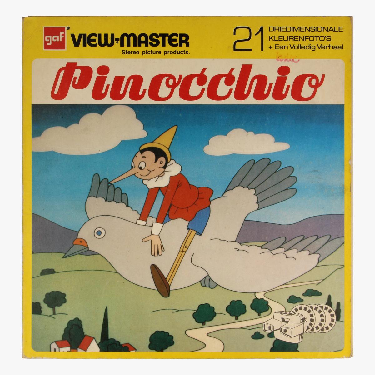 Afbeeldingen van View-master Pinocchio B3111,B3112,B3113