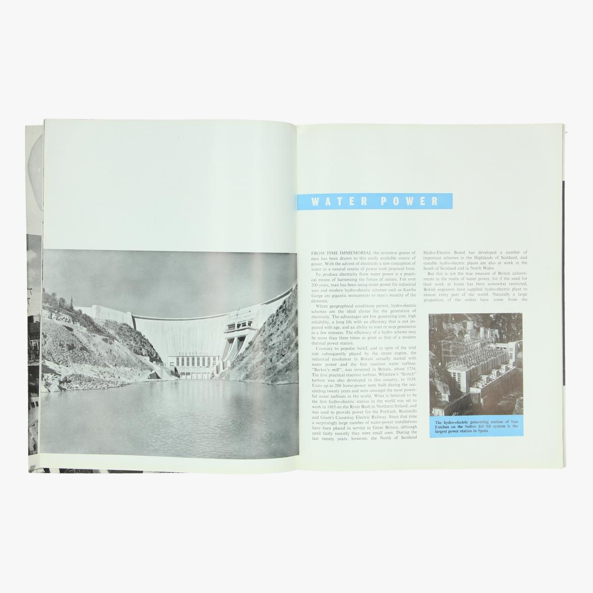 Afbeeldingen van expo 58 boekje serving the world british electrical and allied industry