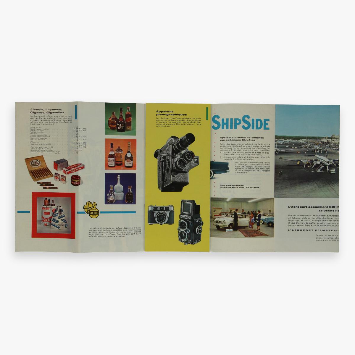 Afbeeldingen van luchtvaart folder tax - free shopping - klm