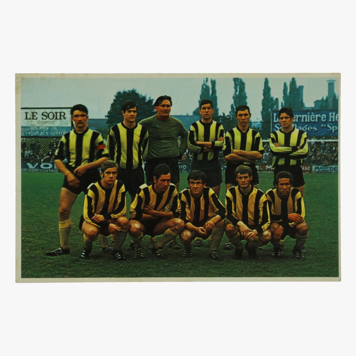 Afbeeldingen van oude postkaart voetbal f.c tournai