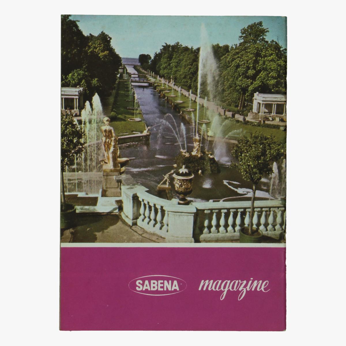 Afbeeldingen van sabena magazine vacances de u.r.s.s.