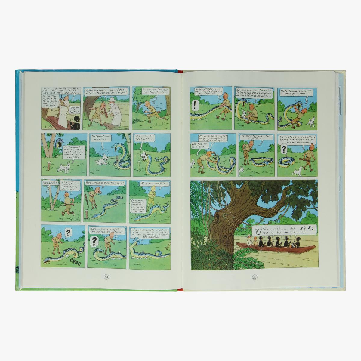Afbeeldingen van Tintin au Congo - Kuifje