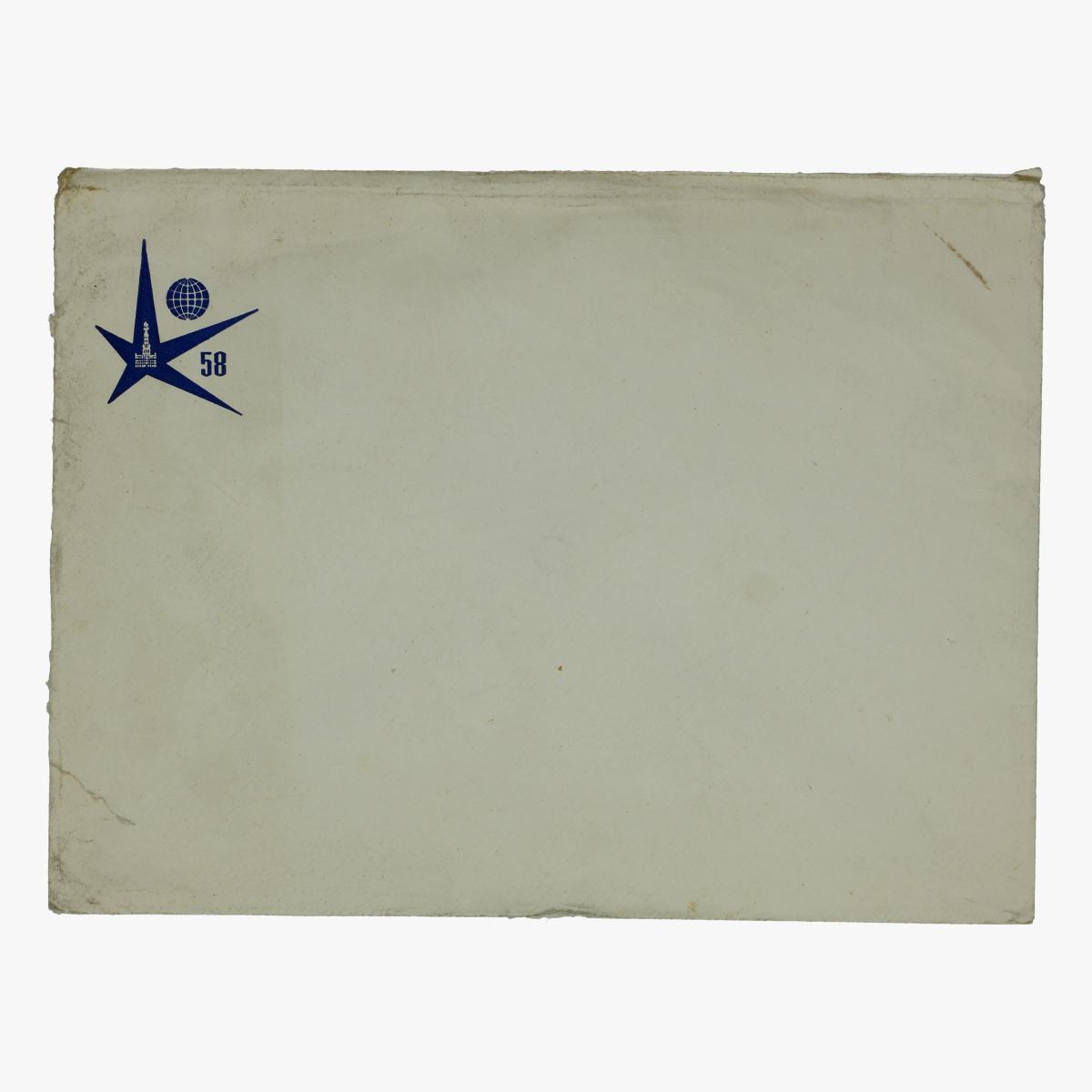 Afbeeldingen van envelop expo 58