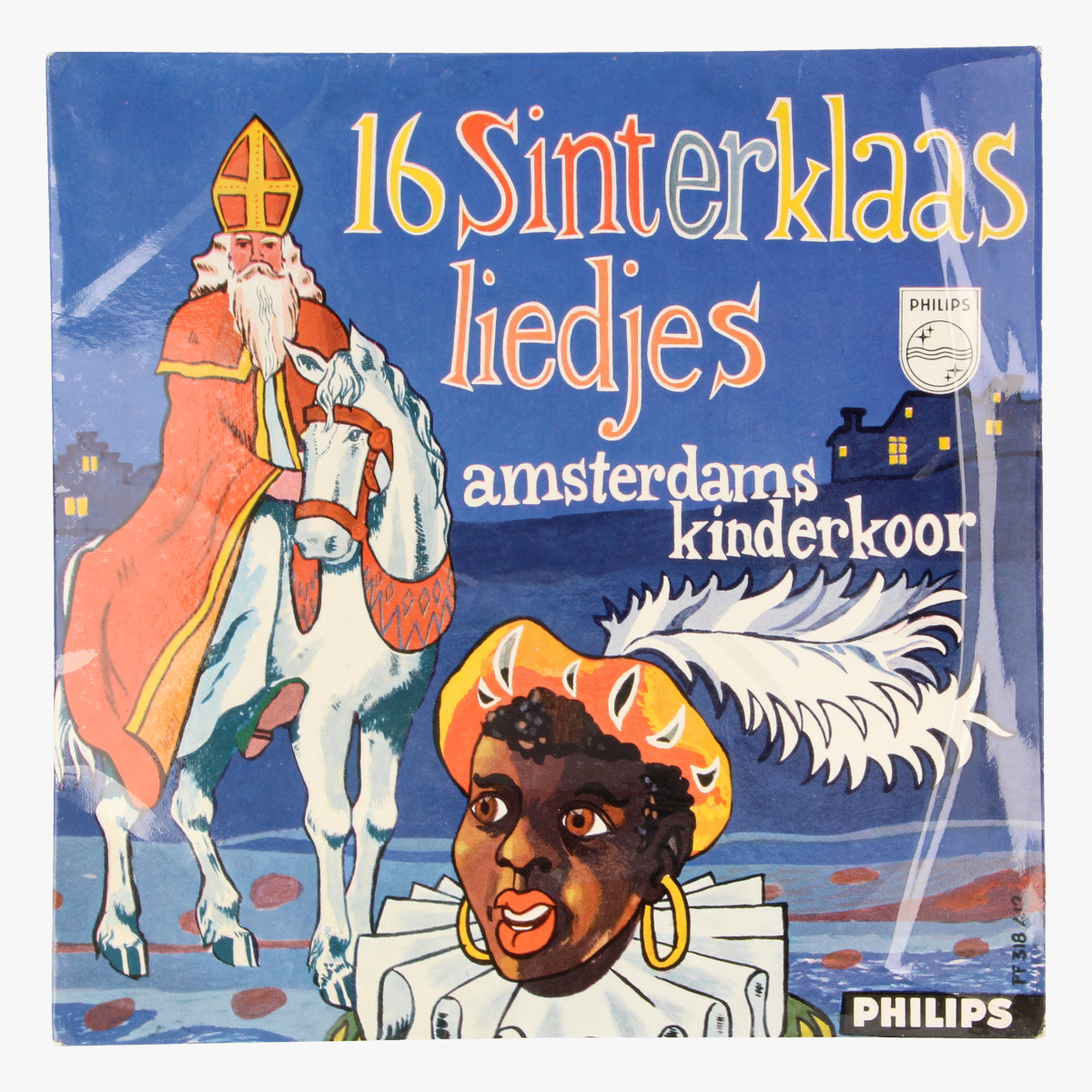 Afbeeldingen van 16 Sinterklaasliedjes Amsterdams Kinderkoor