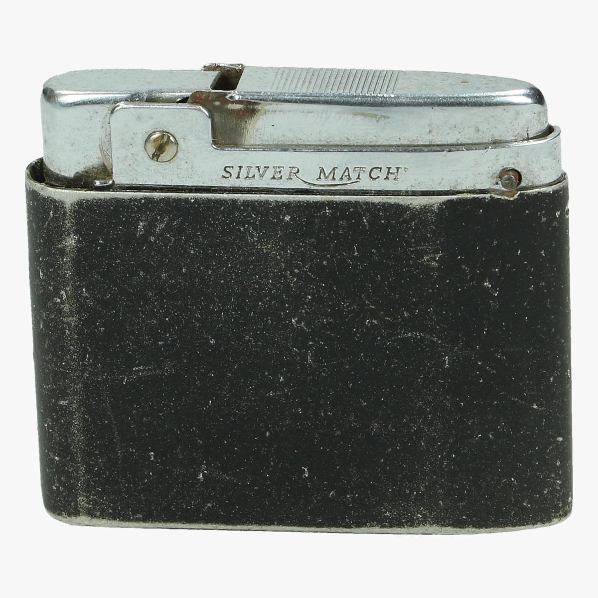 Afbeeldingen van oude aansteker silver match
