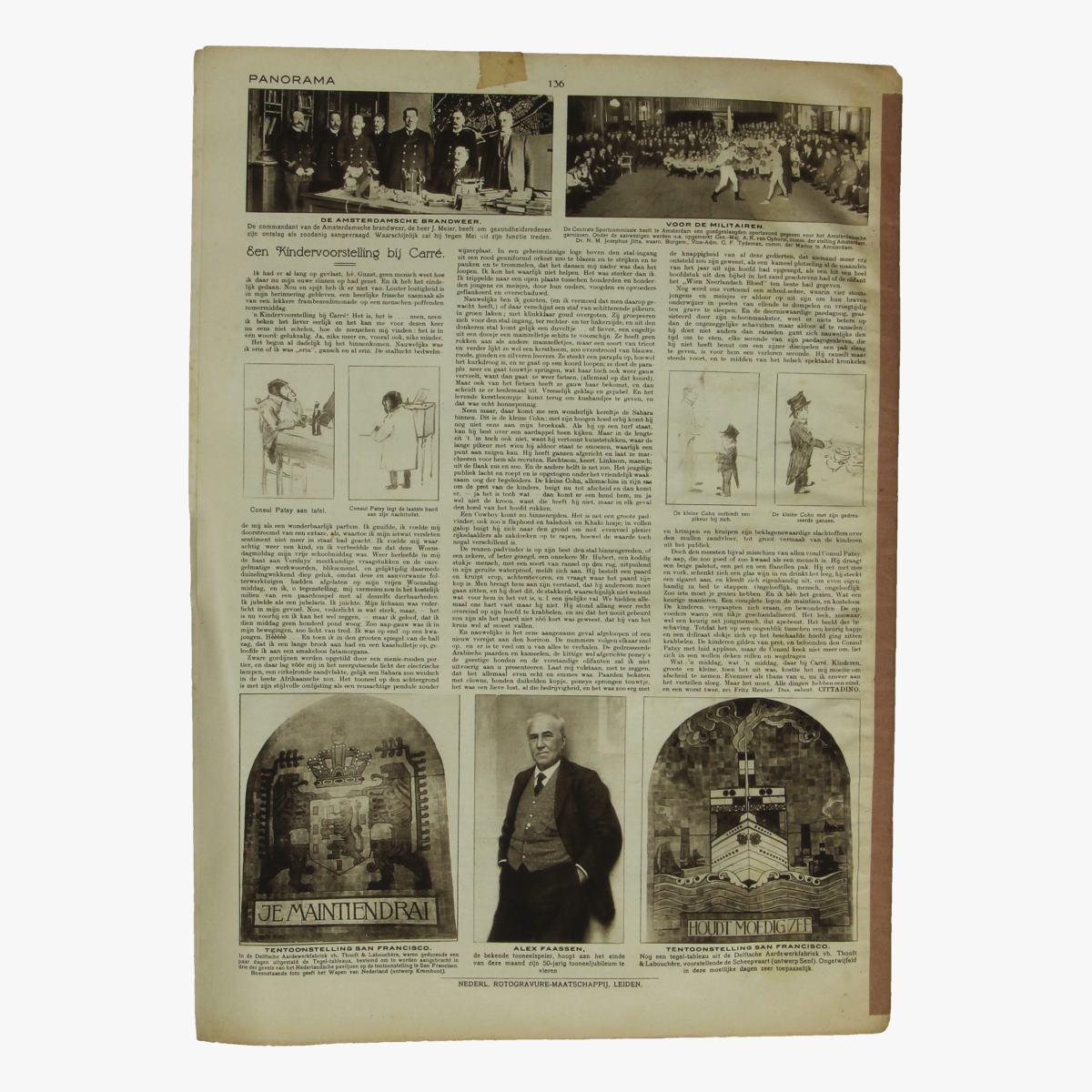 Afbeeldingen van oude weekblad panorama N°17   26 februari 1915