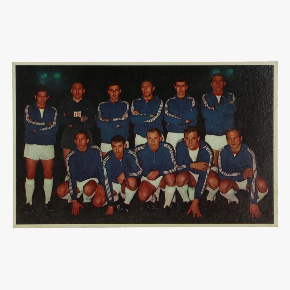 Afbeeldingen van oude postkaart voetbal waregem