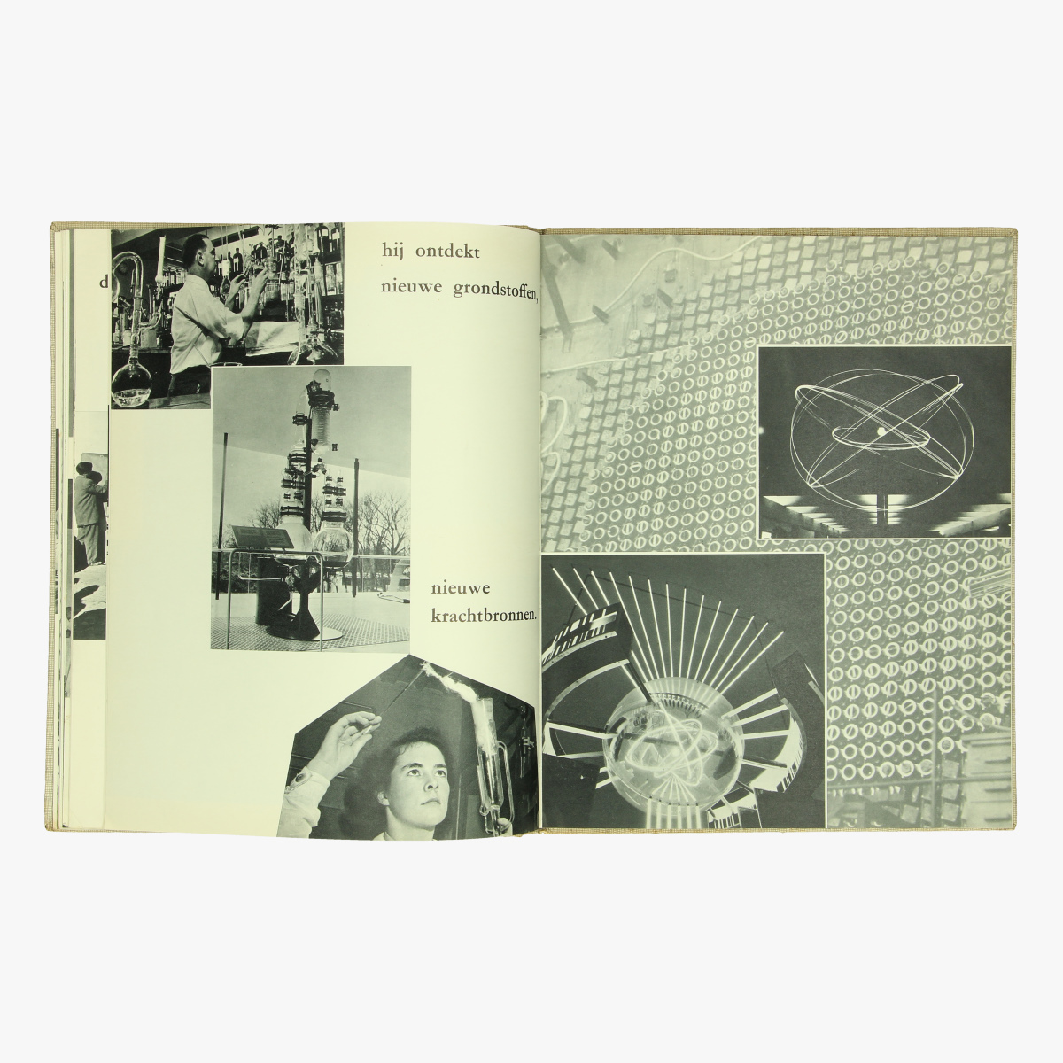 Afbeeldingen van expo 58 boek voor een humaner wereld boodschap aan de jeugd
