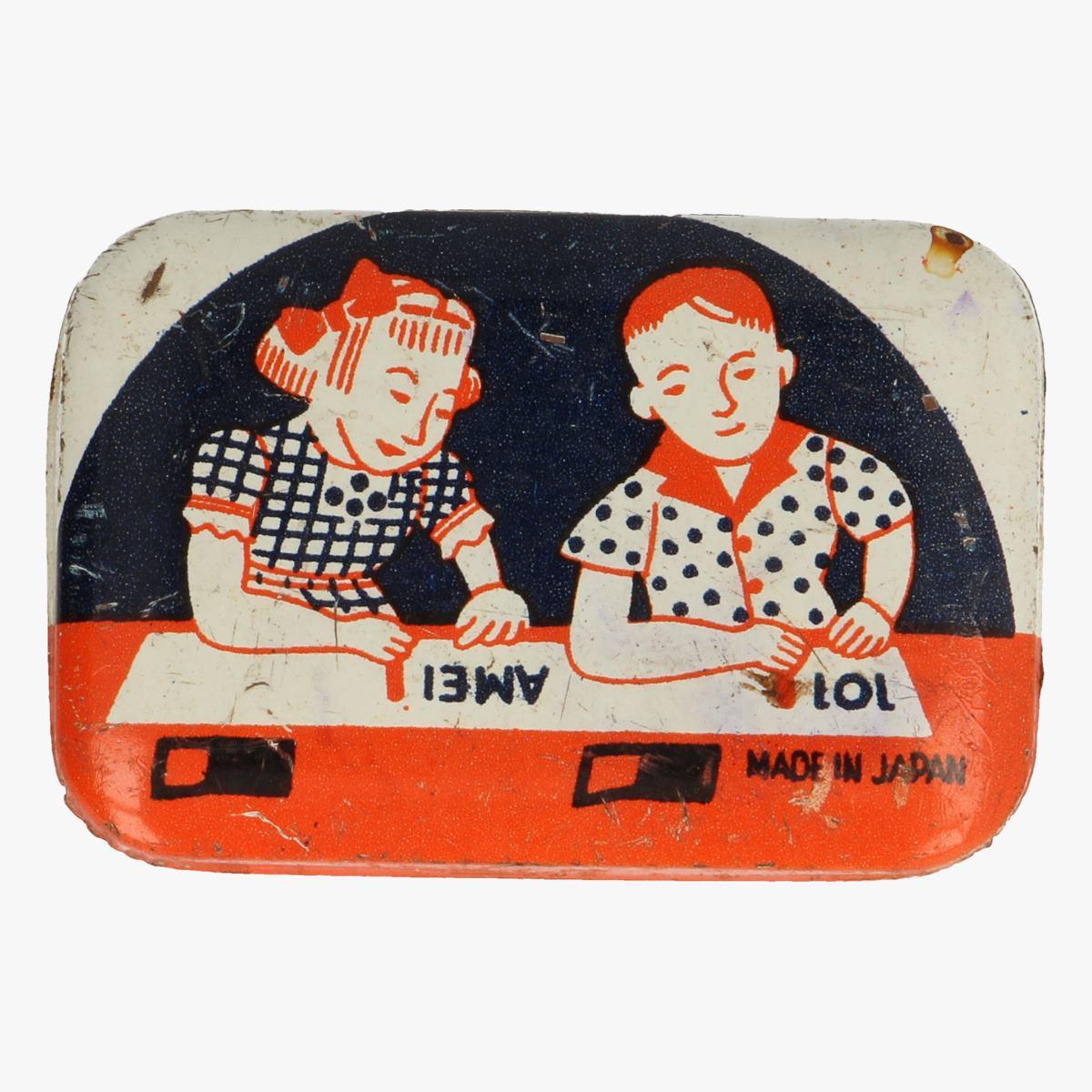 Afbeeldingen van blikken doosje amei lol made in japa,