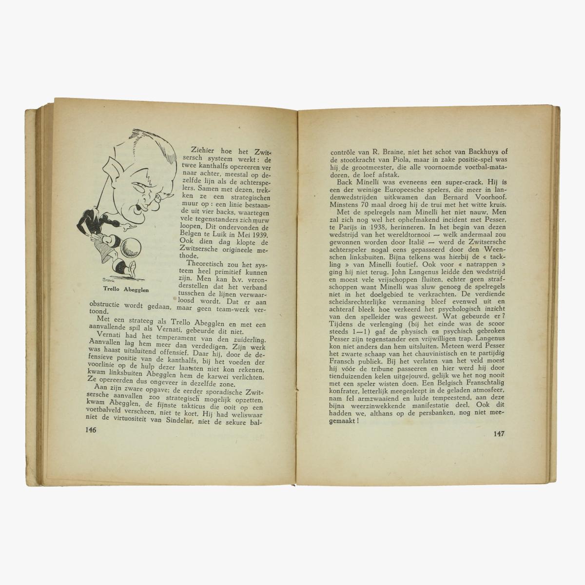 Afbeeldingen van voetbal boek 1942 onze voetbal figuren geschiedenis, techniek en taktiek van een spel pol jacquemyns