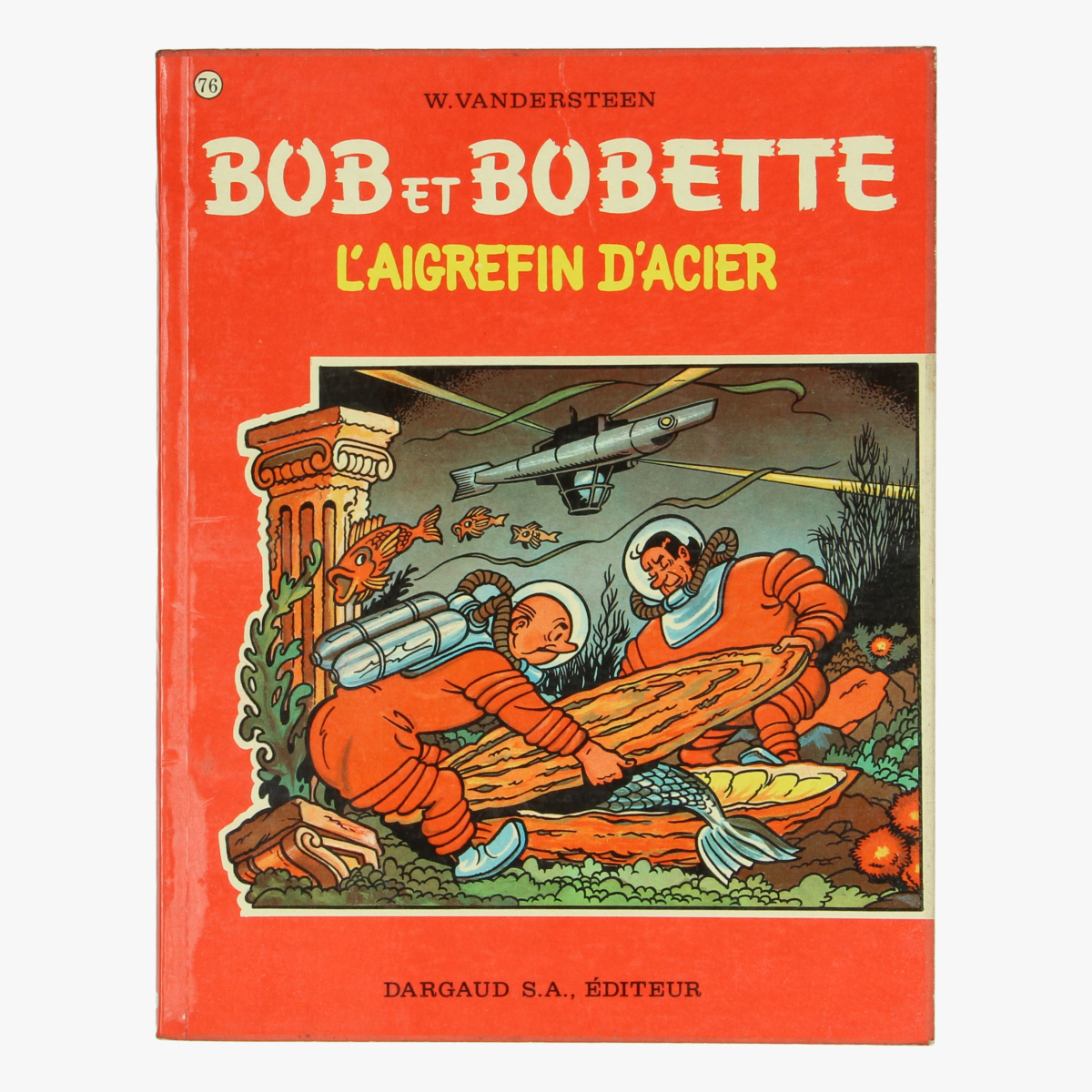 Afbeeldingen van Bob et Bobette L'aigrefin d'acier
