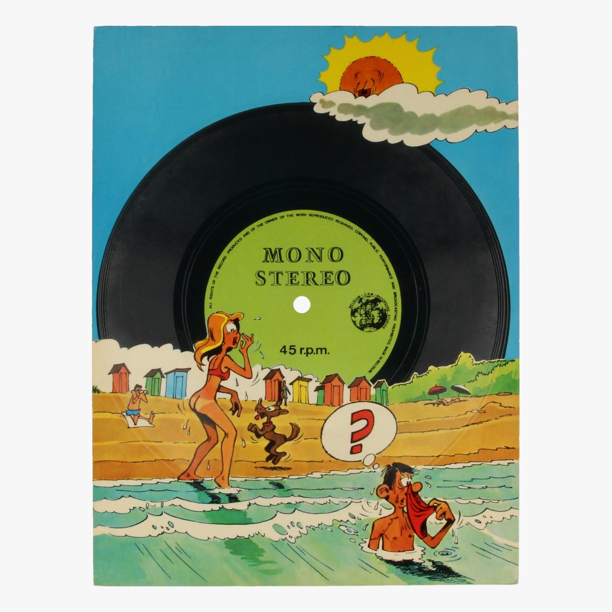 Afbeeldingen van Gramophone greatingcard - LP 45toeren