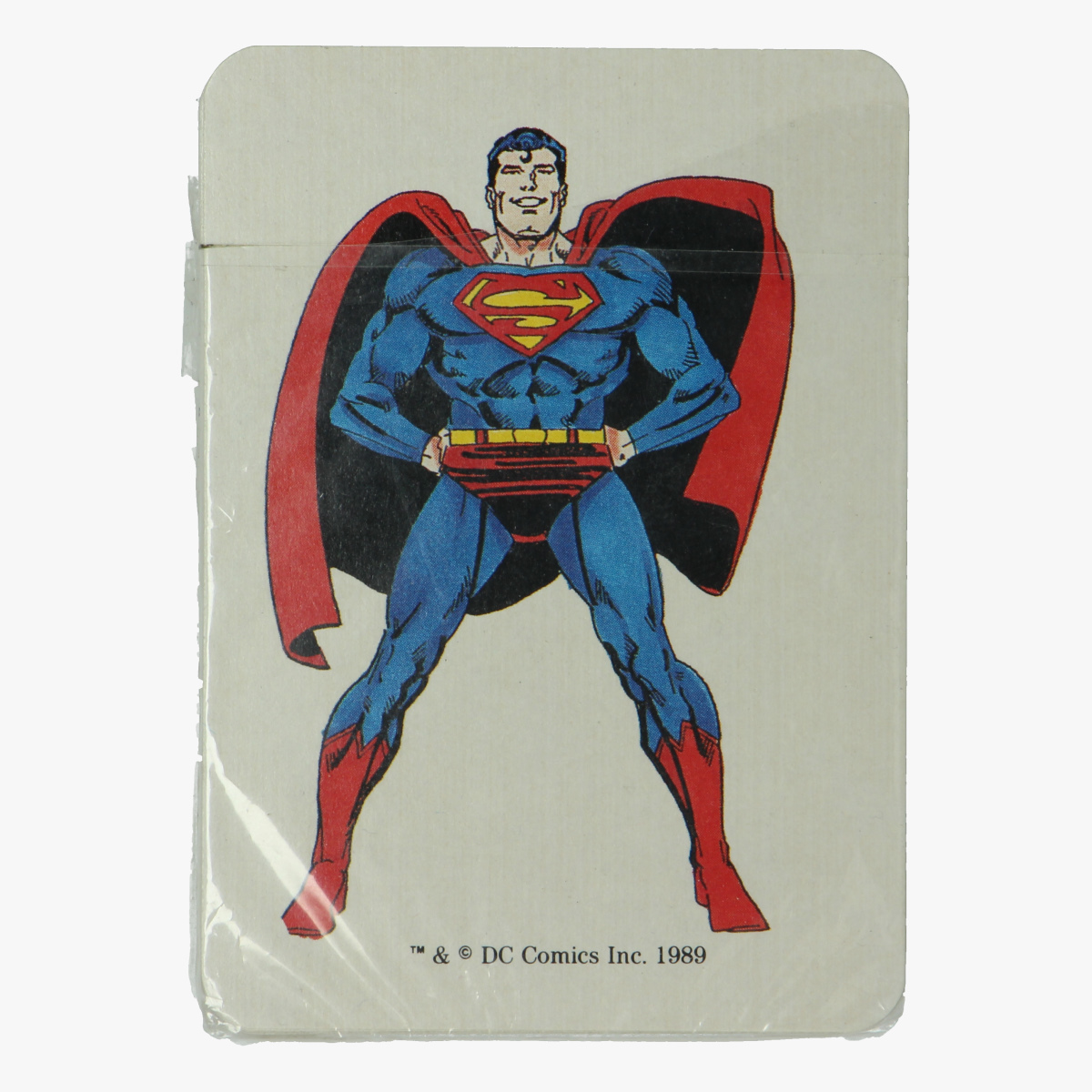 Afbeeldingen van Kaartspel Superman 1989