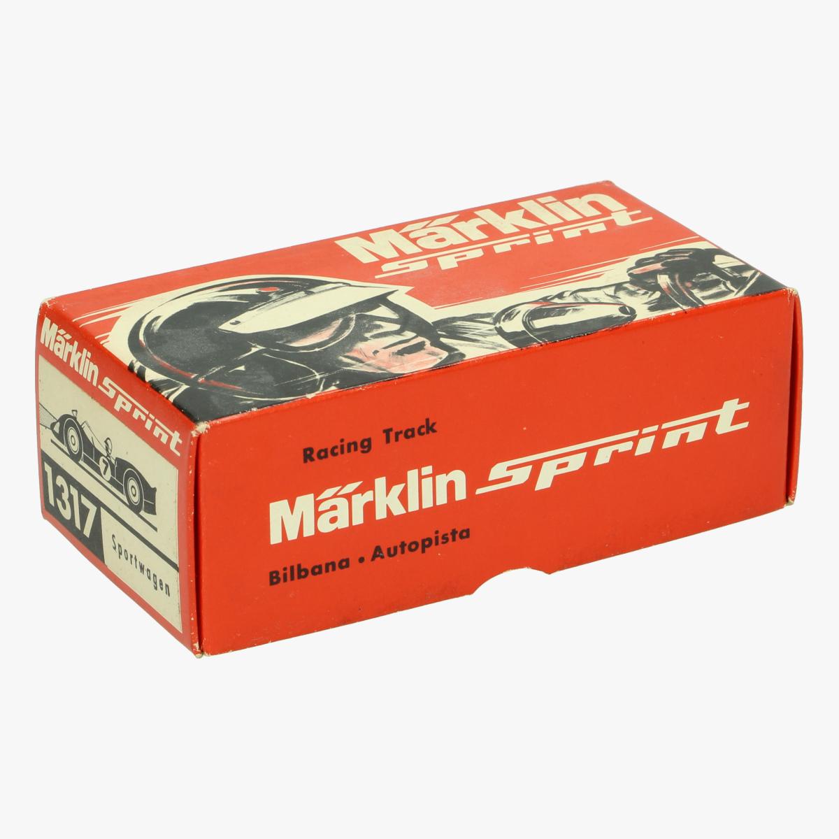 Afbeeldingen van Marklin Sprint. Speelgoedauto. Porsche Carrere 6