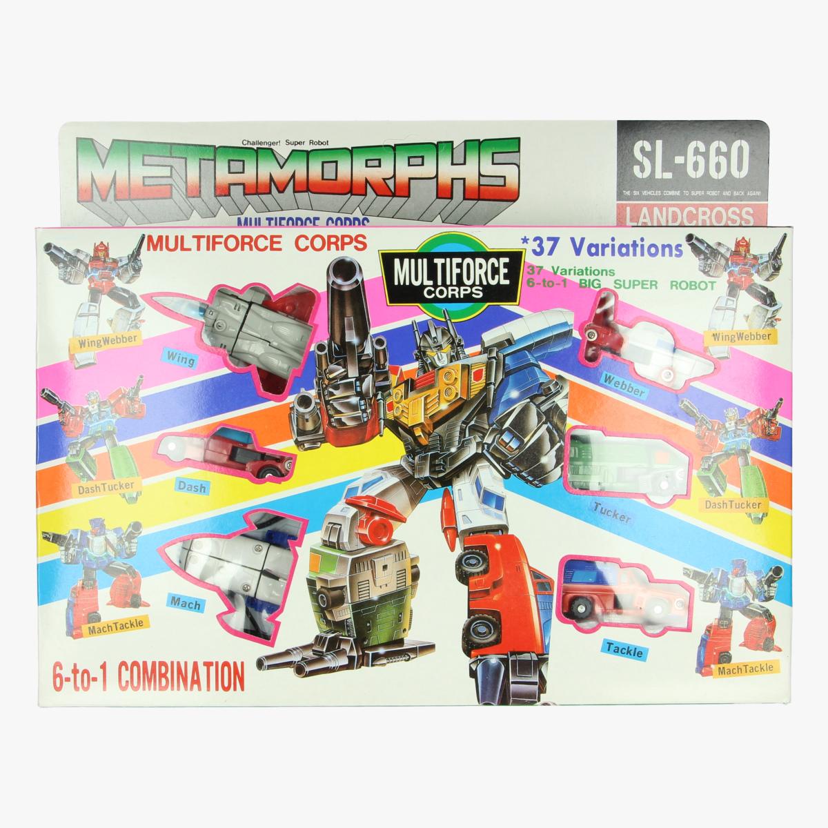 Afbeeldingen van metamorphs multiforce corps