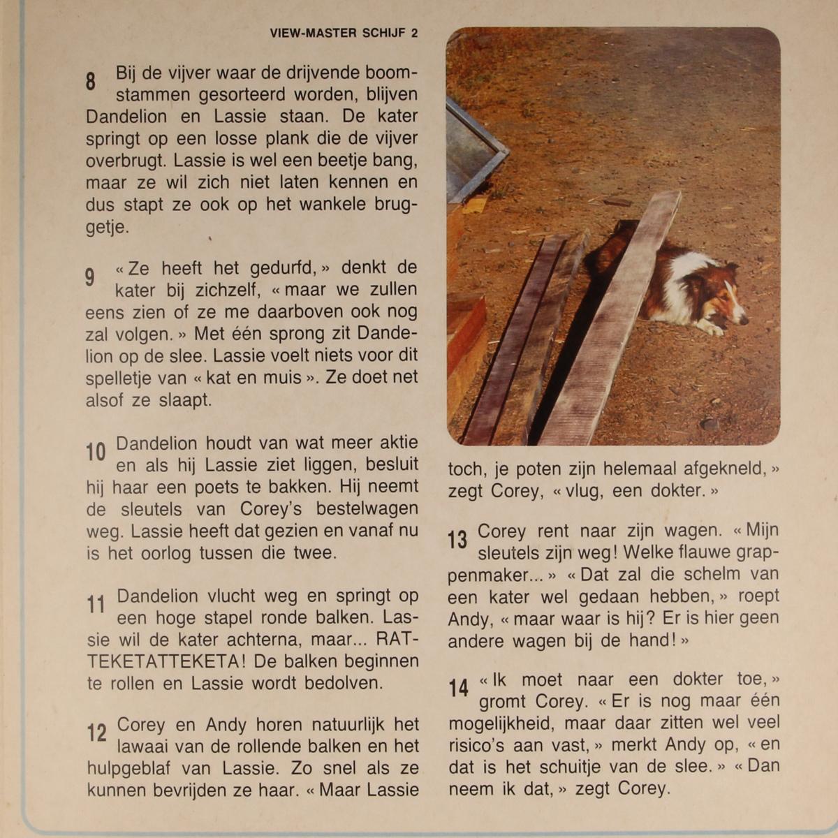 Afbeeldingen van View-master Lassi  bij de houthakkers B4891,B4892,B4893