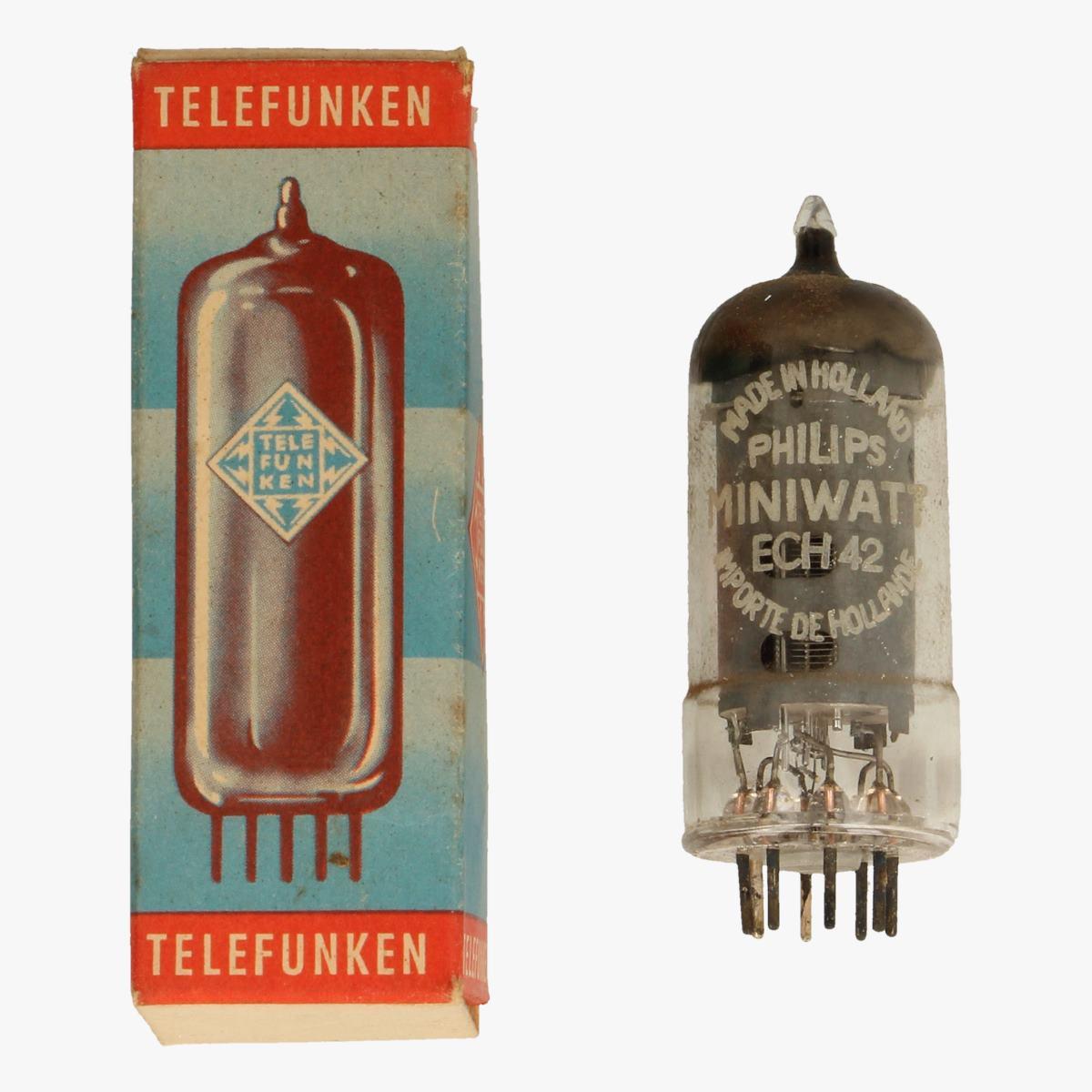 Afbeeldingen van telefunken ech 42