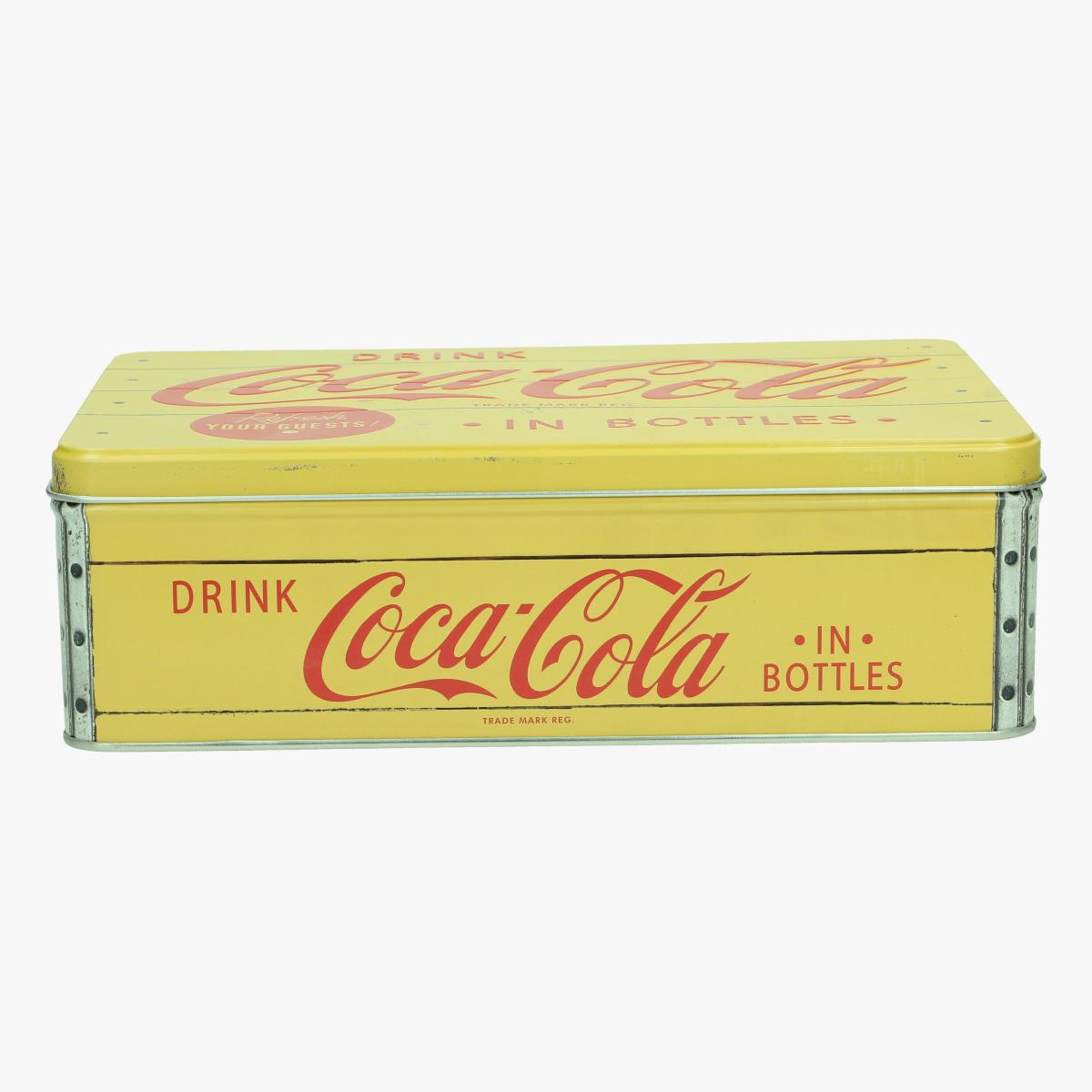 Afbeeldingen van blikken doos coca cola repro