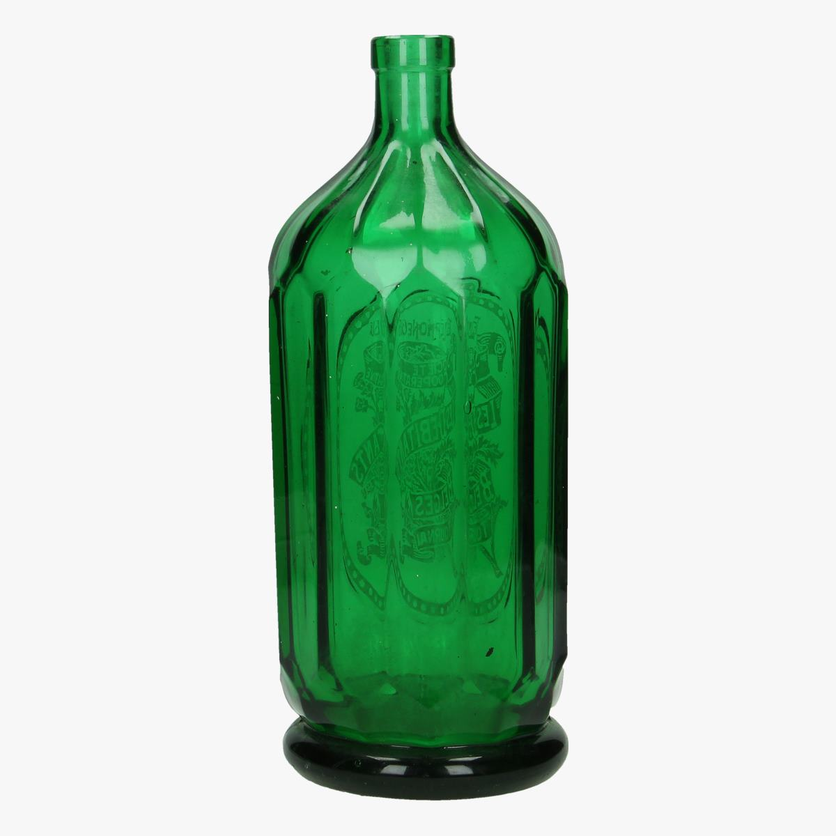 Afbeeldingen van oude soda fles les debitants Belges  Tournai