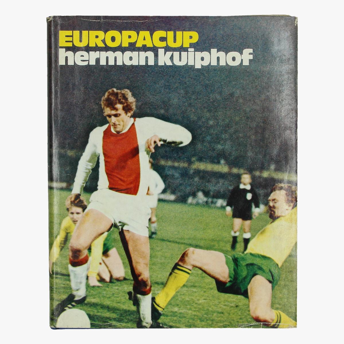 Afbeeldingen van boek voetbal europacup herman kuiphof 1970/71 uitgeverij luitingh - laren n.h