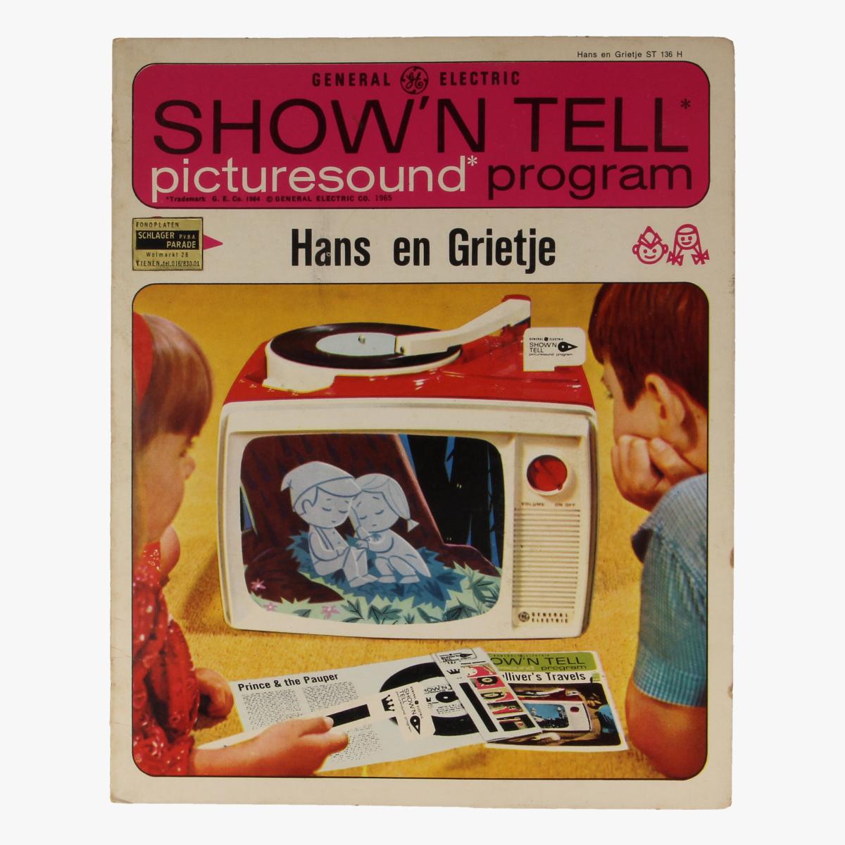 Afbeeldingen van Hans en grietje. show'n tell