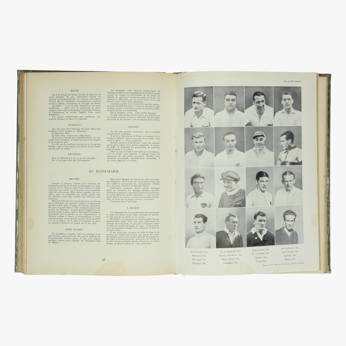 Afbeeldingen van boek le footbal ** encyclopédie des sports modernes 1953  r. kister et g.schmid