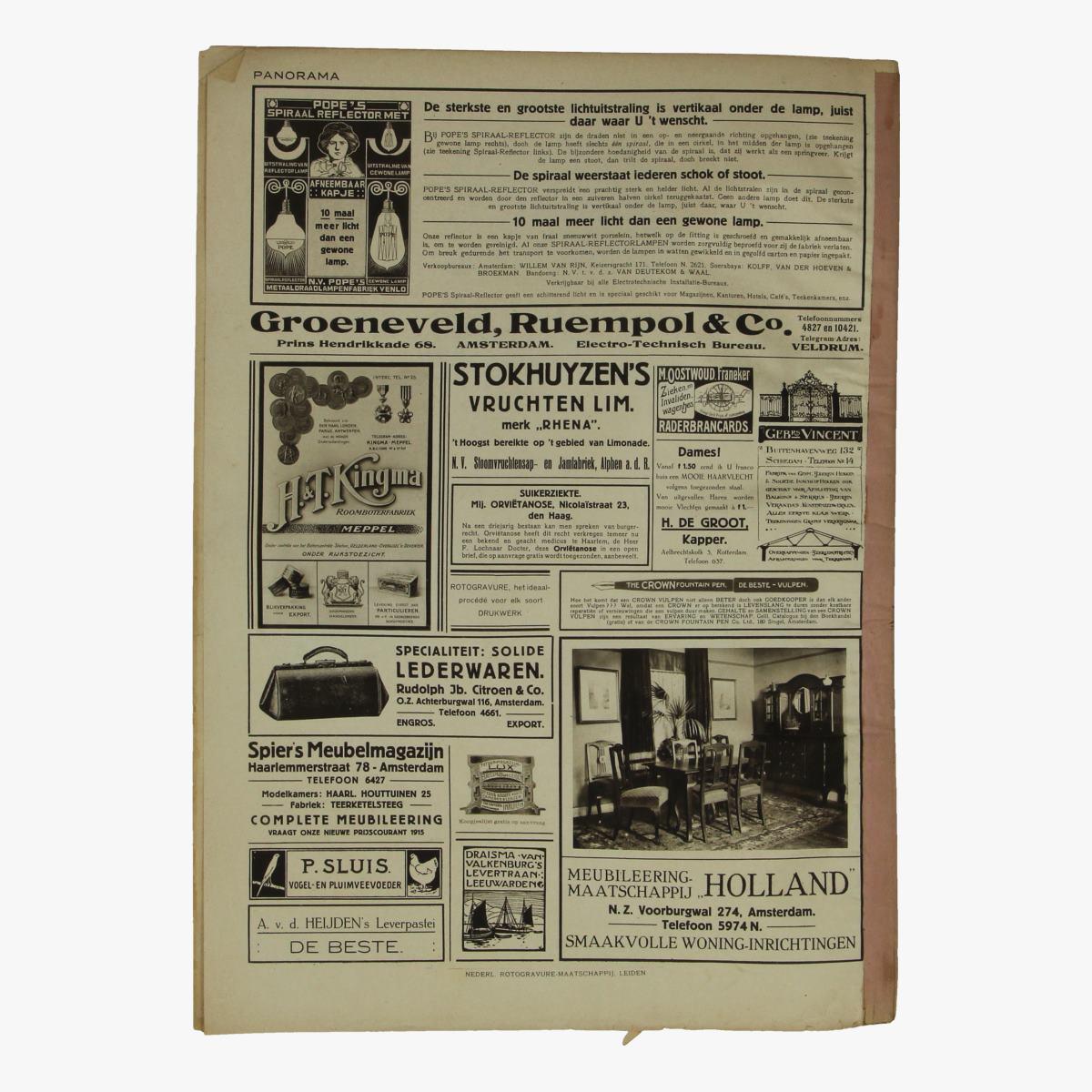 Afbeeldingen van oude weekblad panorama N°4  13 januari 1995