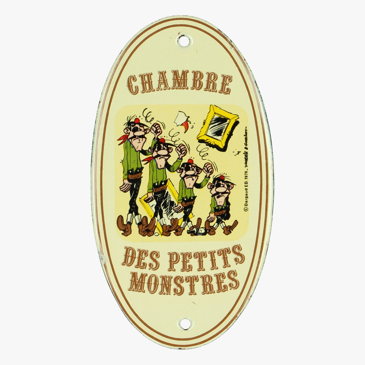 Afbeeldingen van Chambre Des Petits Monstres. Lucky Luck. Email bordje