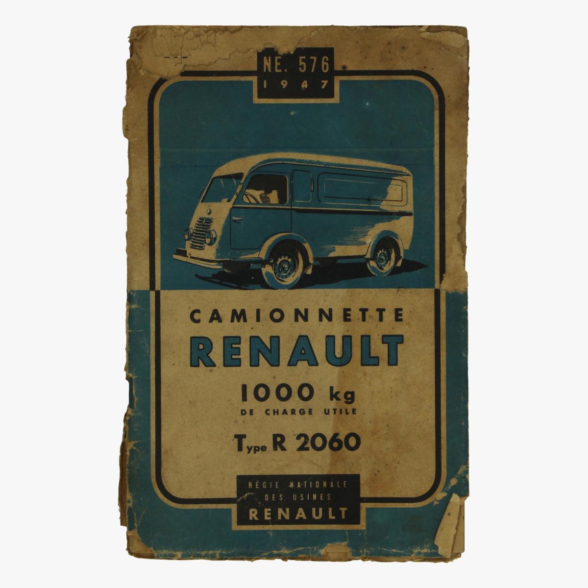 Afbeeldingen van camionnette renault 1947 regie nationale des usines