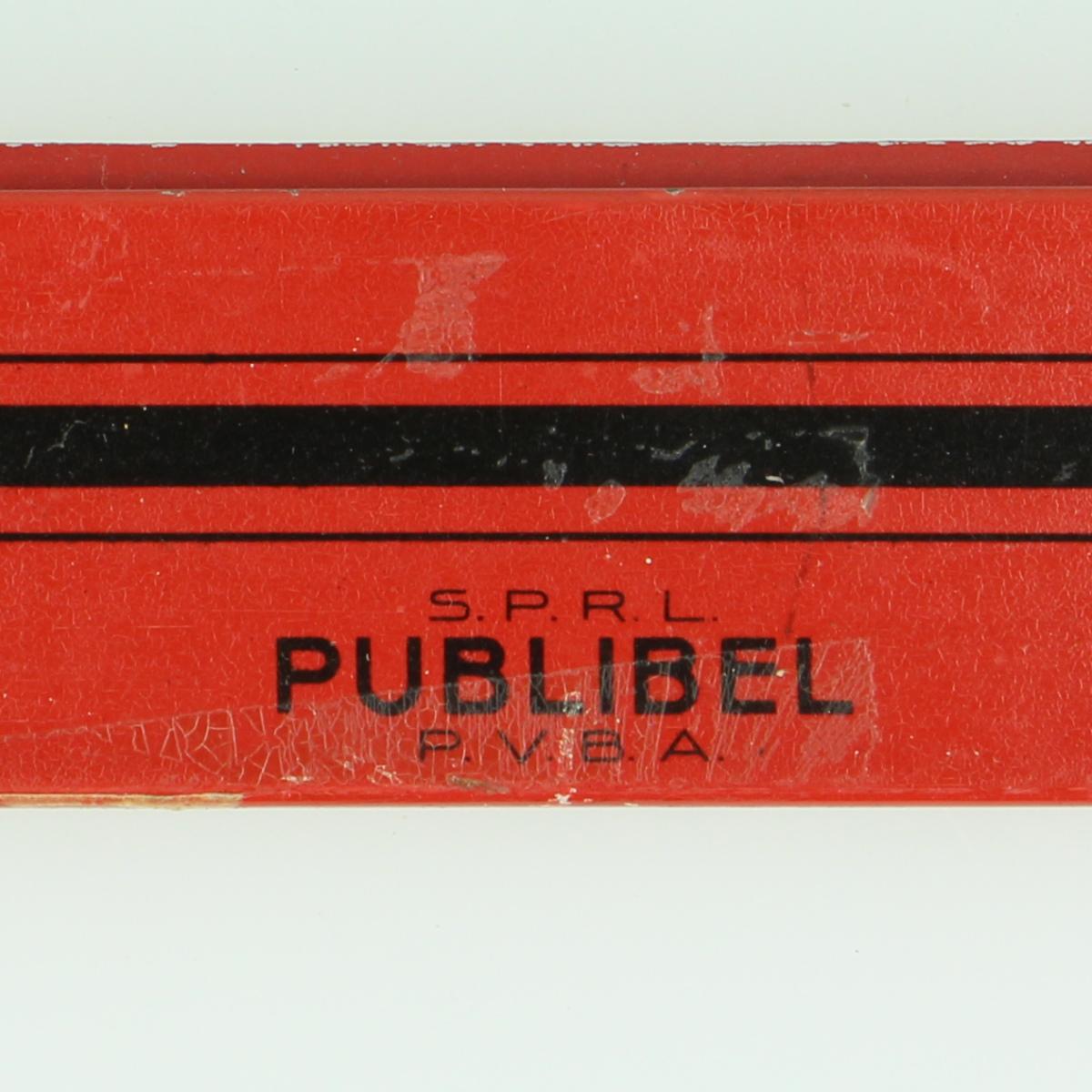 Afbeeldingen van De Post - Kalender Postpubliciteit in blik - Publibel