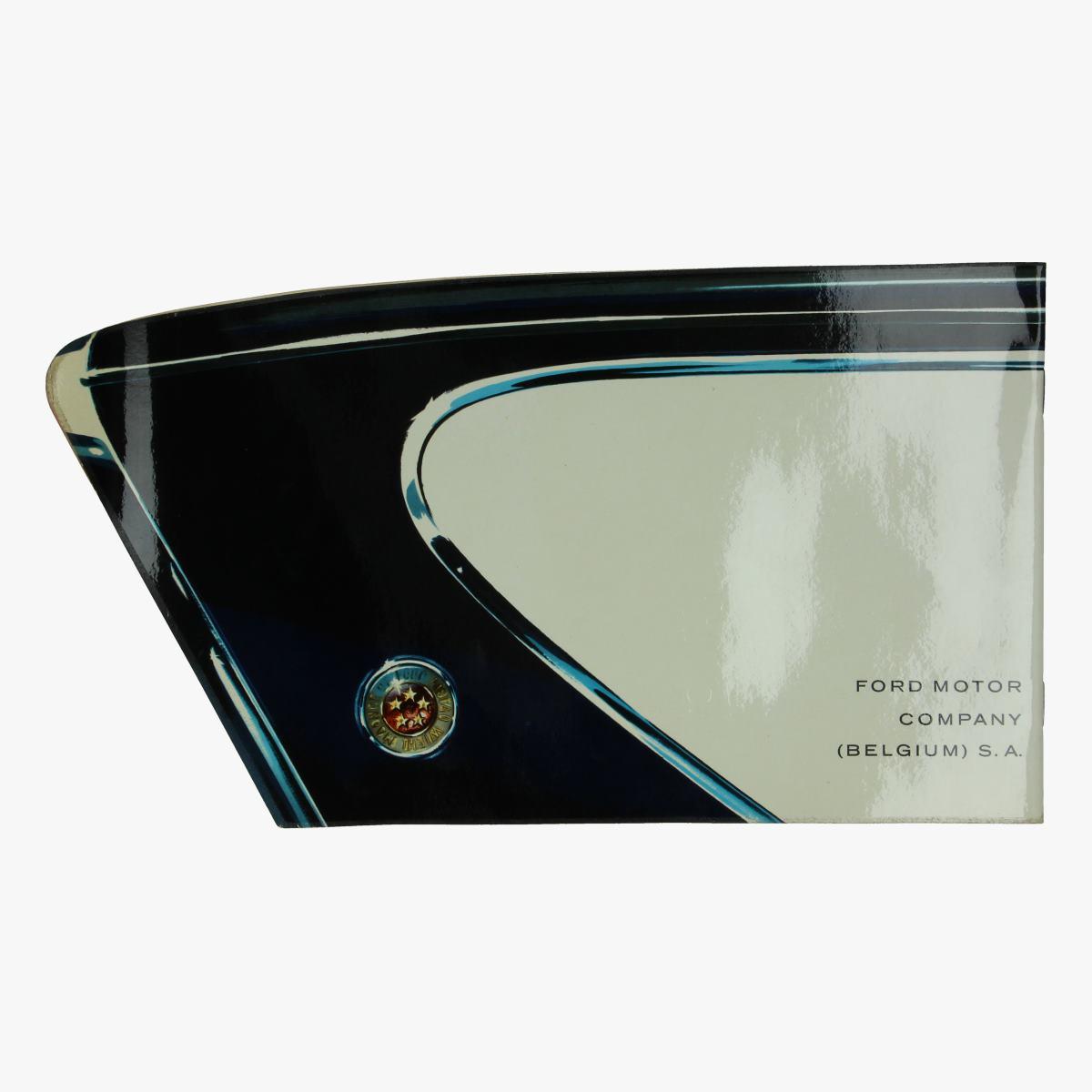 Afbeeldingen van Ford anglia de luxe reclame boekje