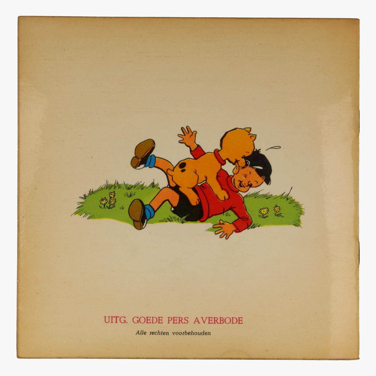 Afbeeldingen van kleine LP Rikske en Fikske nr 3