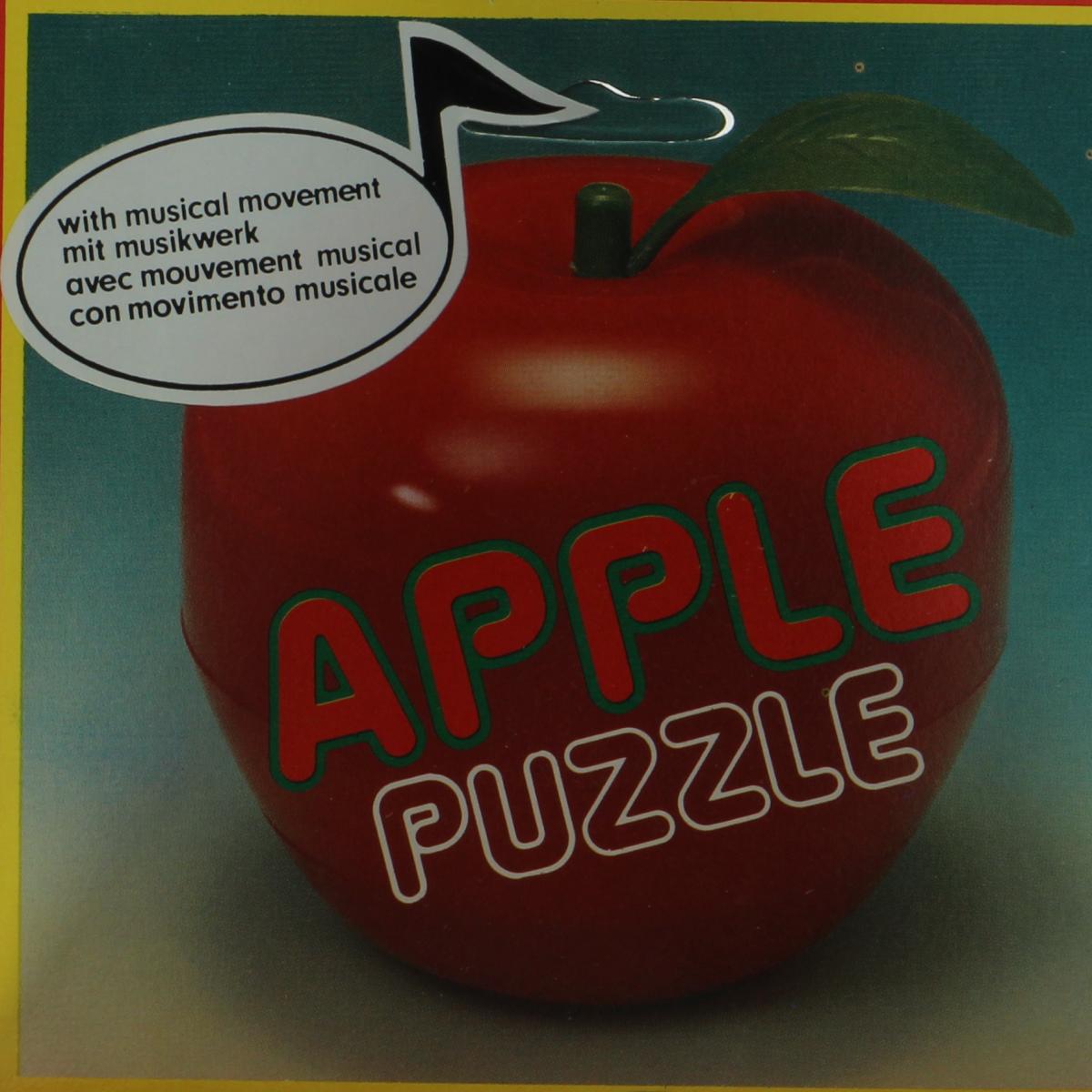 Afbeeldingen van Puzzel pomme. Speelgoed puzzel. Desco Toys.