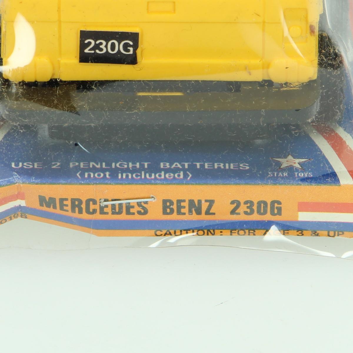Afbeeldingen van Miniatuur Mercedes Benz 230G Star Toys